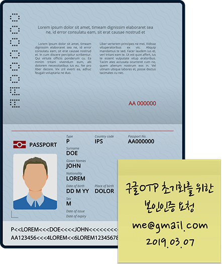 Image of ID card, 1 copy